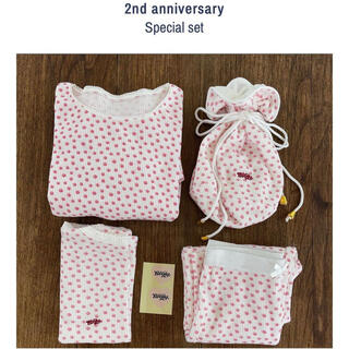 Honey mi Honey - Bibiy. 2nd anniversary set thermal tops