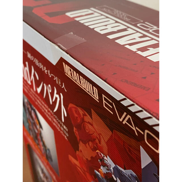 BANDAI(バンダイ)の★新品未開封 METAL BUILD メタルビルド エヴァンゲリオン 2号機 エンタメ/ホビーのフィギュア(アニメ/ゲーム)の商品写真