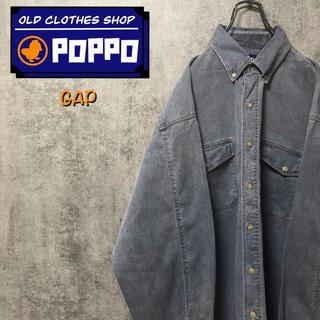 ギャップ(GAP)のオールドギャップGAP☆フラップ付きダブルポケットデニムシャツ 90s(シャツ)