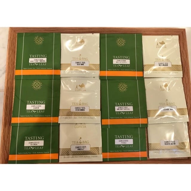 LUPICIA(ルピシア)のルピシア サンプル ティー 12パック 食品/飲料/酒の飲料(茶)の商品写真