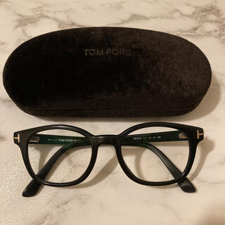 TOM FORD - TOM FORD トムフォード ウェリントン 黒縁メガネ TF5208