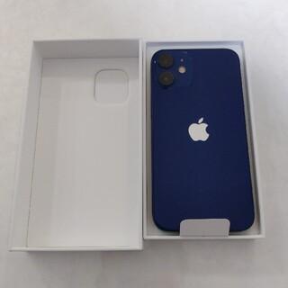 iPhone - 【新品未使用】iphone12 mini 64GB ブルー