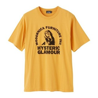 HYSTERIC GLAMOUR - 新品❤️HYSTERIC GLAMOUR❤️Tシャツ❤️イエロー❤️S