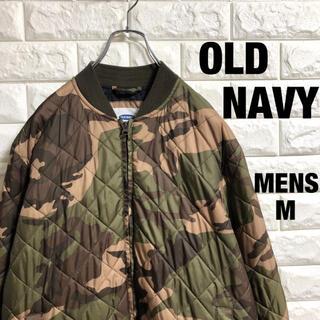 Old Navy - オールドネイビー 中綿ナイロン キルティングジャケット メンズMサイズ