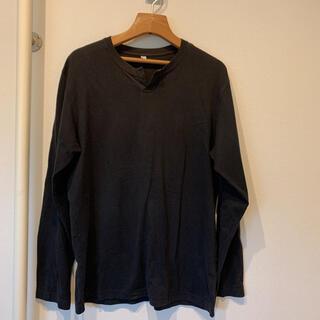 UNIQLO - ユニクロ ロンT  Lサイズ 黒色
