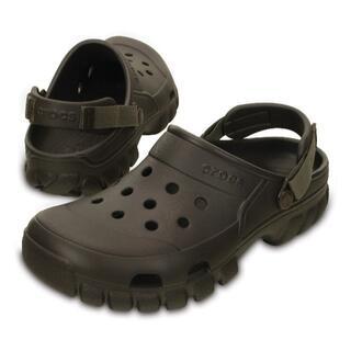 クロックス(crocs)の22cm クロックス オフロード スポーツ クロッグ ブラウン系(サンダル)