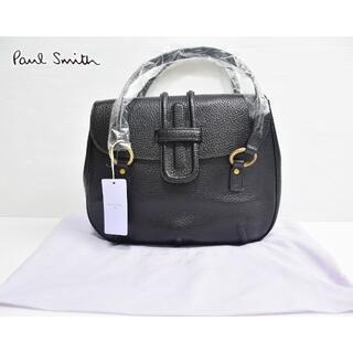 ポールスミス(Paul Smith)の新品 Paul Smith 牛革 レザートートバッグ 黒 定価3万(トートバッグ)