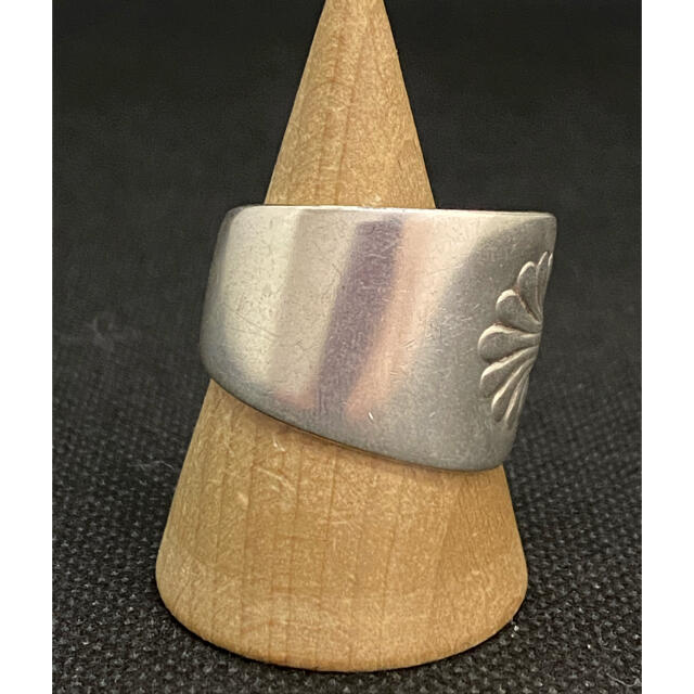 アンティーク リング スプーンリング 20号 調節可 アメリカ 民族 2400 メンズのアクセサリー(リング(指輪))の商品写真