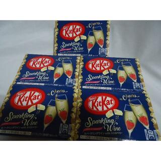 Nestle - ☆5箱セット/キットカットミニ スパークリングワインwithストロベリー 3枚