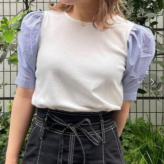 マジェスティックレゴン(MAJESTIC LEGON)のマジェスティックレゴン トップス blouse ストライプ(シャツ/ブラウス(長袖/七分))