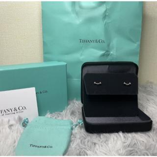 Tiffany & Co. - Tiffanyティファニー Tスマイルピアス