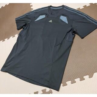 adidas - ☆ATS-826 アディダス トレーニングシャツ 黒 サイズ L