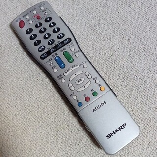シャープ(SHARP)のシャープ AQUOS テレビリモコン765(その他)