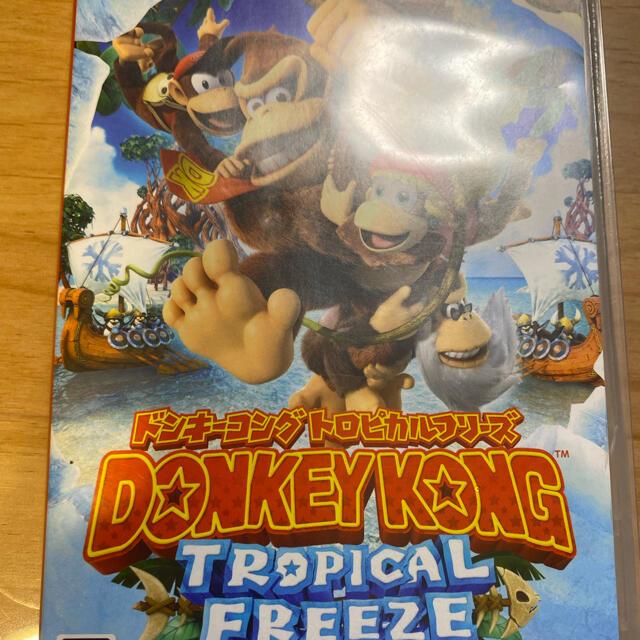 任天堂(ニンテンドウ)のドンキーコング  Switch エンタメ/ホビーのゲームソフト/ゲーム機本体(家庭用ゲームソフト)の商品写真