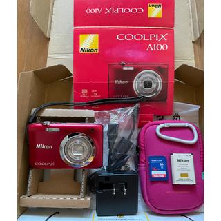 Nikon - 【美品】Nikon クールピクス A100 フルセットでございます(^^)♡