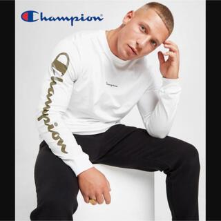 Champion - 【イギリス限定】champion script long sleeve tee