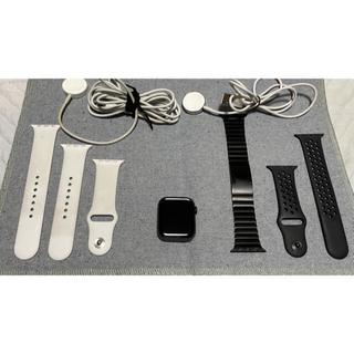 Apple Watch - Apple Watch 5 ステンレス 44mm セルラーモデル