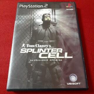PlayStation2 - 【送料込】PS2「スプリンターセル」