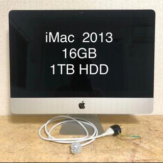 Mac (Apple) - Apple iMac 21.5インチ Late2013 16GB 1TB