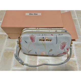 miumiu - Miu Miu ミュウミュウ⭐︎トカゲ柄ポーチ ミニバッグ