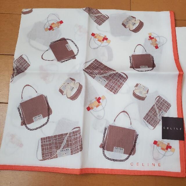 celine(セリーヌ)のセリーヌ ハンカチ バッグ柄 レディースのファッション小物(ハンカチ)の商品写真
