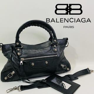 バレンシアガ(Balenciaga)の【BALENCIAGA】 ザ ファースト 2WAY ショルダーバッグ レザー (ハンドバッグ)
