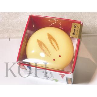 【新品】うさぎ饅頭練り香水 金木犀 キンモクセイの香り