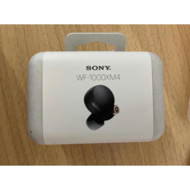 SONY(ソニー)のSONY WF-1000XM4 BM ソニー フルワイヤレスイヤホン ブラック スマホ/家電/カメラのオーディオ機器(ヘッドフォン/イヤフォン)の商品写真