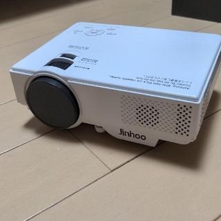 Jinhoo小型プロジェクター M8-TPA(3600lm)(プロジェクター)