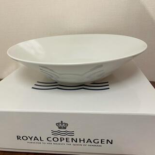 ROYAL COPENHAGEN - ロイヤルコペンハーゲン ホワイトフルーテッド 24cm