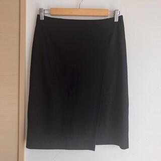 ユナイテッドアローズ(UNITED ARROWS)のユナイテッドアローズ シンプルなラップ風タイトスカート(ひざ丈スカート)