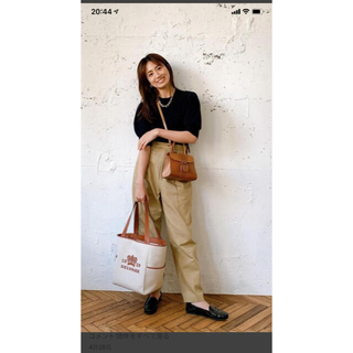 Drawer - ブラミンク BLAMINK 東原亜希さん着用タックパンツ 美品