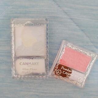 CANMAKE - 【一度使用】キャンメイク ハイライト チーク