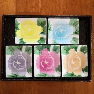 【未使用 】七宝工芸品 七宝焼 銘々皿 5枚セット