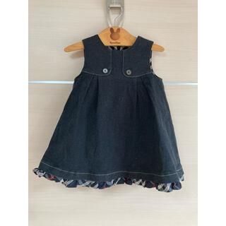BURBERRY - バーバリー   ジャンパースカート サイズ90