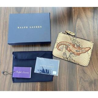 POLO RALPH LAUREN - ラルフローレン コレクション 新品 ラルフ ミニ財布 カード カードケース 財布