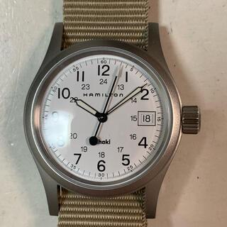 Hamilton - ハミルトンkhaki腕時計