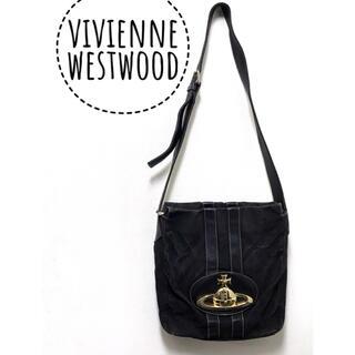 Vivienne Westwood - vivienne westwood  キャンパス生地 オーブ ショルダー バッグ