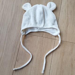 エイチアンドエム(H&M)の新生児 くま耳帽(帽子)