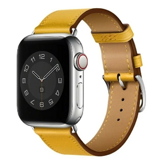 Apple Watch レザーバンド 38/40mm イエロー