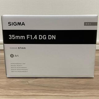 SIGMA - シグマ SIGMA 35mm F1.4 DG DN (Art)新品