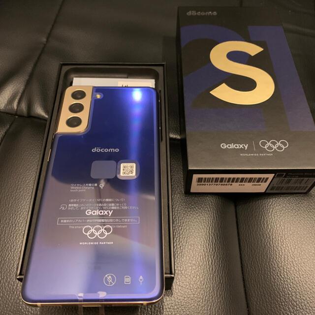 Galaxy(ギャラクシー)のdocomo galaxy s21 5G Olympic edition 即発送 スマホ/家電/カメラのスマートフォン/携帯電話(スマートフォン本体)の商品写真
