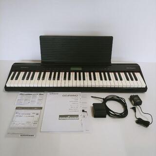 ローランド(Roland)の【美品】Roland GO-61P GO:PIANO キーボード 61鍵(電子ピアノ)