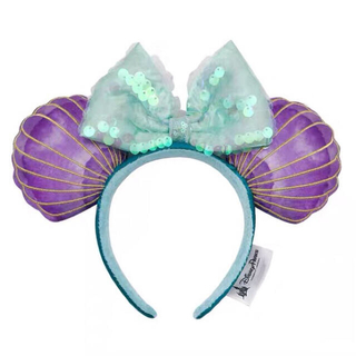 Disney - 海外ディズニー♡リトルマーメイド30周年アリエルカチューシャ 貝殻