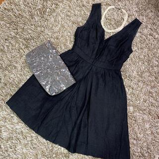 MERCURYDUO - 【美品】マーキュリーデュオ MERCURYDUO ワンピース 黒 ドレス