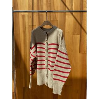 TODAYFUL - willfully multi border 2way button knit