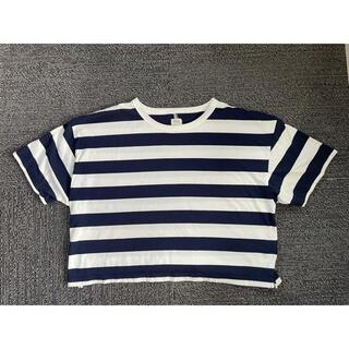 アングリッド(Ungrid)のUngrid ボーダー 半袖 Tシャツ 未使用(Tシャツ(半袖/袖なし))