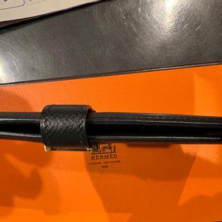 エルメス(Hermes)の♪ エルメス  ブラック長財布 ベアンスフレ 二つ折り ゴールド金具 ♪(財布)