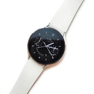 ギャラクシー(Galaxy)のGalaxy Watch4 海外版 シルバー 44mm(腕時計(デジタル))