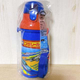 タカラトミー(Takara Tomy)のプラレール☆480ml プッシュ式 直のみスポーツボトル(水筒)